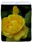 Yellow  Rose Of Summer Duvet Cover