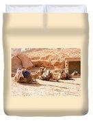 Three Camels Duvet Cover
