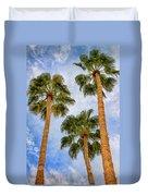 Three Palms Palm Springs Duvet Cover