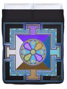 Tibetan Mandala Duvet Cover