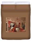 Tibetan Terrier Art Canvas Print Duvet Cover