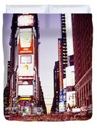 Times Square, Nyc, New York City, New Duvet Cover