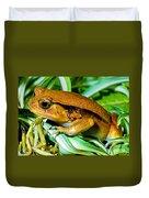Tomato Frog Duvet Cover