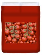 Tomato On The Vine Duvet Cover