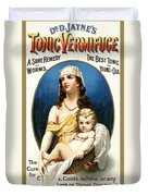 Tonic Vermifuge Duvet Cover by Gary Grayson