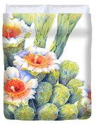 Top Bloomers Duvet Cover