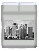 Toronto On Skyline Duvet Cover