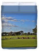 Torrey Pines Golf Course Duvet Cover