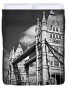 Tower Bridge In London Duvet Cover