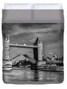 Tower Bridge Vintage Duvet Cover