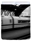 Train Station, Cologne, Germany Duvet Cover