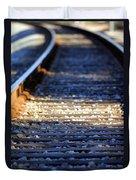 Train Tacks Duvet Cover