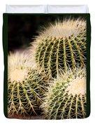 Triple Cactus Duvet Cover