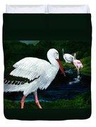 Tropical Birds Duvet Cover