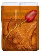 Tulips Are People Xi Duvet Cover