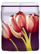 Tulips Are People Xiii Duvet Cover