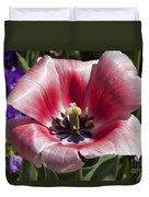 Tulips At Dallas Arboretum V93 Duvet Cover