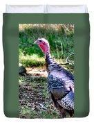 Turkey Lurkey Duvet Cover