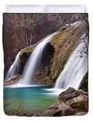 Turner Falls Duvet Cover