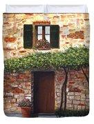 Tuscan Casa Montepulciano Duvet Cover