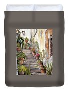 Tuscan Steps Duvet Cover