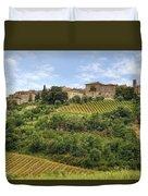 Tuscany - Castelnuovo Dell'abate Duvet Cover