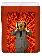 Tv Man Duvet Cover
