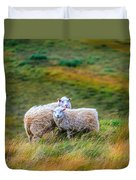 Two Sheep Duvet Cover