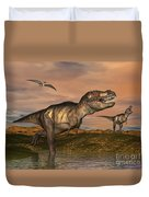 Tyrannosaurus Rex Dinosaurs Duvet Cover