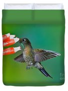 Tyrian Metaltail Duvet Cover