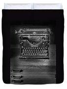 Underwood Typewriter Duvet Cover