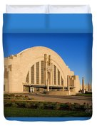 Union Terminal, Cincinnati Duvet Cover