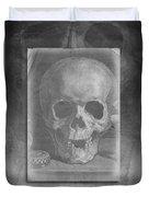 Untitled Skull Duvet Cover