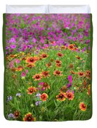 Up Close In The Garden 2 Duvet Cover
