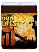 Urban Lifestyle Duvet Cover