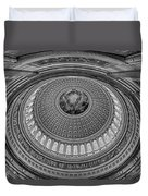 Us Capitol Rotunda Duvet Cover by Susan Candelario
