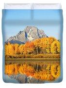 Usa, Grand Teton National Park Wyoming Duvet Cover