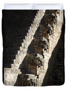 Uxmal Maya Ruins Duvet Cover
