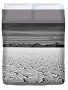 Uyuni Salt Falt Pattern Duvet Cover