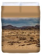 Valley Of The Names Duvet Cover by Robert Bales