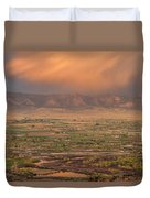 Valley Sunset Duvet Cover