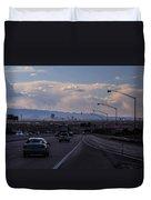 Vegas Cityscape Duvet Cover