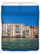 Venice Grand Canal View Italy Duvet Cover