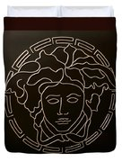 Versace Medusa Head Duvet Cover by Peter Virgancz