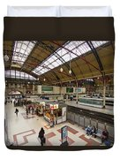 Victoria Railway Station London  Duvet Cover