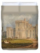 View Of Hampton Court Duvet Cover