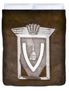 Vignale Emblem Duvet Cover
