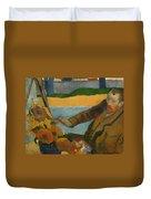 Vincent Van Gogh Painting Sunflowers Duvet Cover