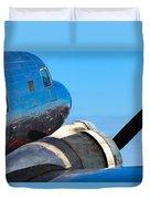 Vintage Airplane Duvet Cover