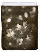 Vintage Floral Background Duvet Cover